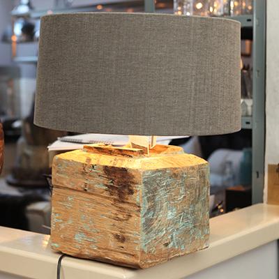 houten tafellamp Lumière lumiere