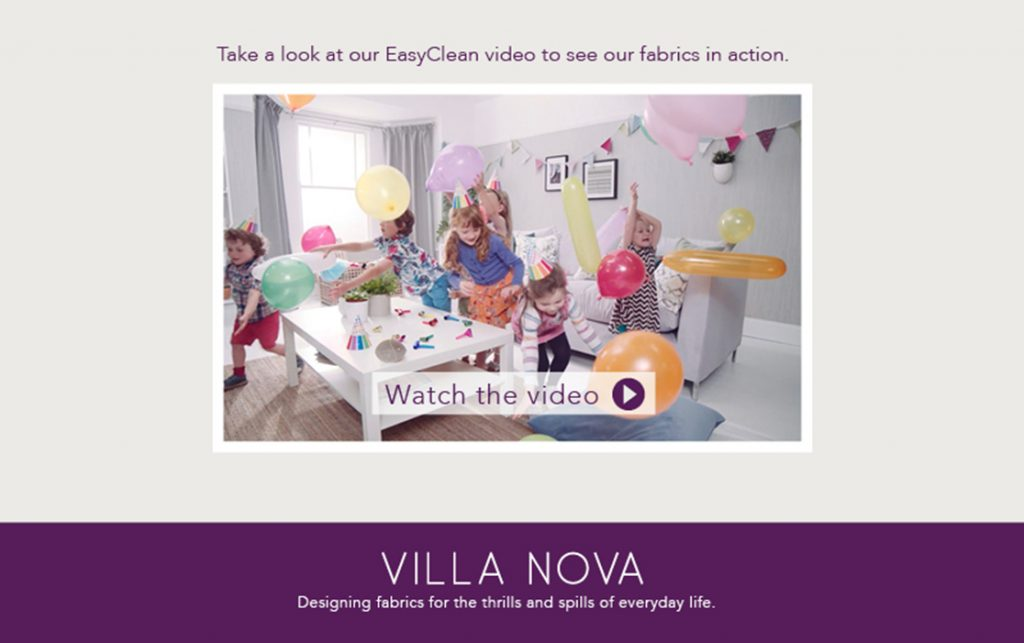Villa Nova EASY CLEAN Stoffen