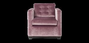 fauteuil roze
