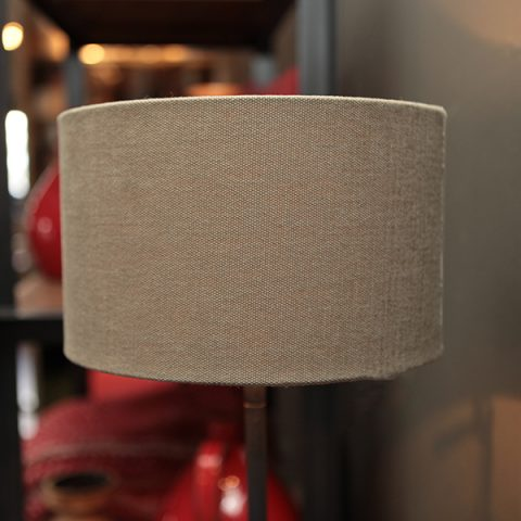 Duran Zwolle vloerlamp verlichting lamp lampenkap naturel