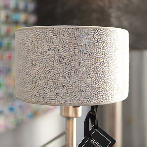 Duran gelderland verlichting lamp lampenkap grijs