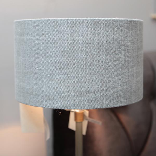Duran Zwolle vloerlamp verlichting lamp lampenkap grijs