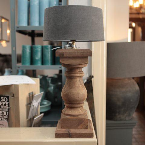 Duran gelderland verlichting lamp lampenkap hout